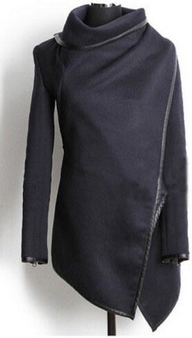 Dámský jarní/podzimní kabát Bural - černá