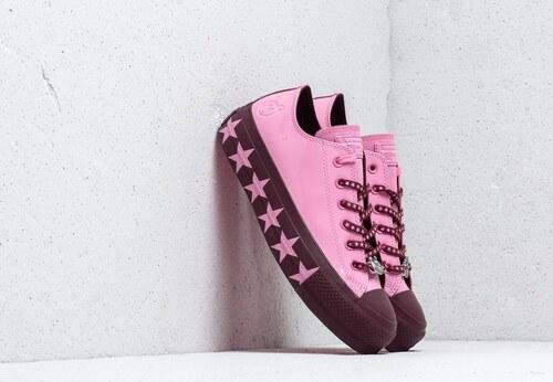 2531f64ec26 Converse x Miley Cyrus Chuck Taylor All Star Lift Ox Pink/ Dark Burgundy/  Pink