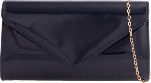 6c8736f89e6 Čierna lakovaná listová kabelka K-H2570 - Glami.sk