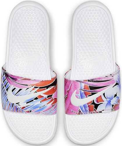 bbb102b0fbd3d Nike Sportswear Šľapky »Wmns Benassi Just Do It« biela-potlač - Glami.sk