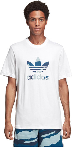 bd1cfd8e21 adidas Originals Camouflage Trefoil Tričko Biela - Glami.sk