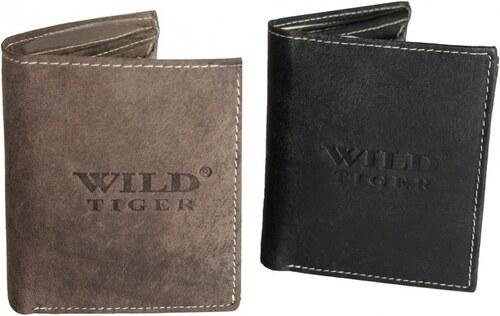 e72d4e9ac Kožená peňaženka pre mužov Wild Tiger AM-28-037 - čierna - Glami.sk