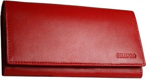 84a2d910d6 Dámska peňaženka Bellugio AD-10-063M - červená - Glami.sk