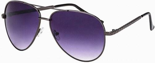 33e4a4f18 Ombre Clothing Slnečné okuliare pilotky A190 - čierne - Glami.sk