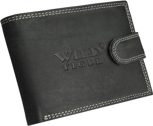 4967b5a5e Kvalitná pánska peňaženka Wild Tiger AM-28-032 - čierna - Glami.sk