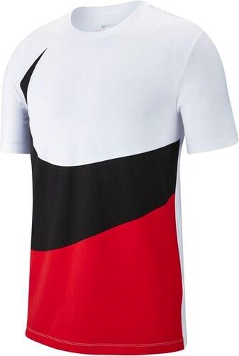 90a0005295fdc Pánské triko Nike HBR Swoosh Červené - Glami.sk