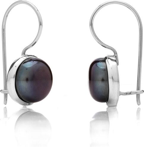 6aade05f5 Buka Jewelry Buka Perlové náušnice Buka veľké – čierna 118 - Glami.sk