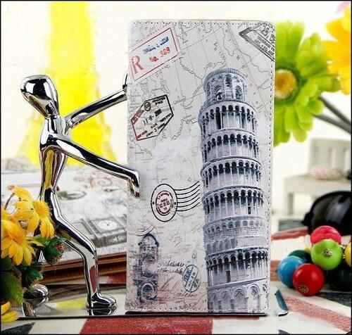 Krásná peněženka s motivem - Šikmá věž