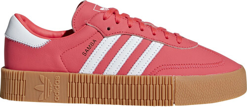 adidas Originals Adidas Sambarose Shock Red cervené DB2696