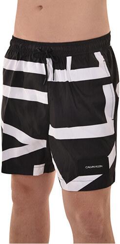 b21a83223c Calvin Klein Pánske kúpacie kraťasy Medium Drawstring KM0KM00274-000 Klein  Abstract Black