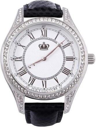 dfa62a30d Dámské hodinky Juicy Couture Lively s koženým páskem - Glami.cz