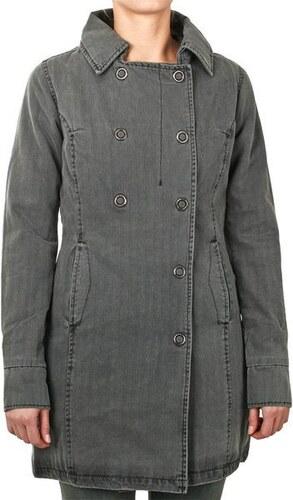 Dámský kabát FUNSTORM BARA Coat dark grey XS - Glami.cz d742357308