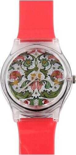 Dámské hodinky May 28th 01 54PM s květinovým ciferníkem - Glami.cz 119a143e36