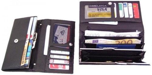 Dámská kožená peněženka rámová