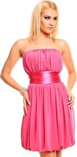 Mayaadi Deluxe Růžové šaty s balonovou sukní - Glami.cz a0cccdb93f6