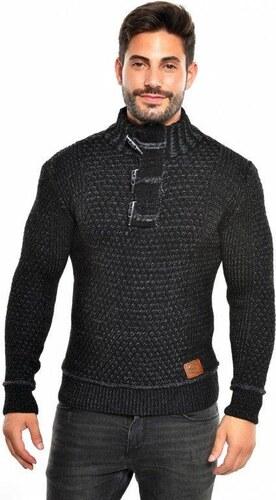 Pánský pletený svetr CE&CE - černý