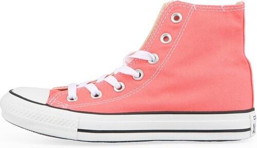 Růžové dámské kotníkové tenisky Converse Chuck Taylor All Star ... 860cbf8a951