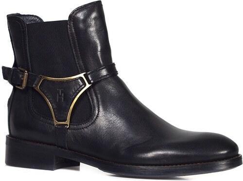 cce231313b9 Tommy Hilfiger - Dámské kotníkové boty - černá