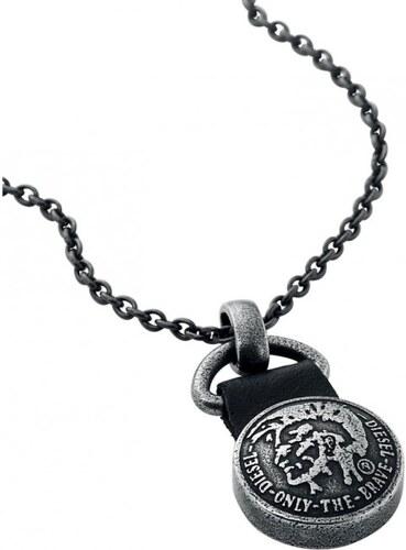 Diesel Pánský ocelový náhrdelník DX0686040 - Glami.cz 325aa77608f