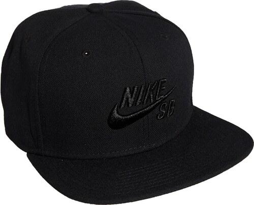 f80b569e344 Nike SB Icon Snapback Cap - Black - Glami.cz