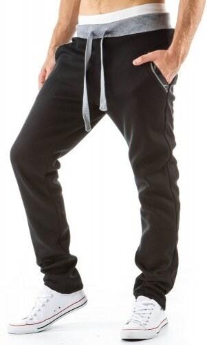 Pánské sportovní kalhoty Laguna černé - černá