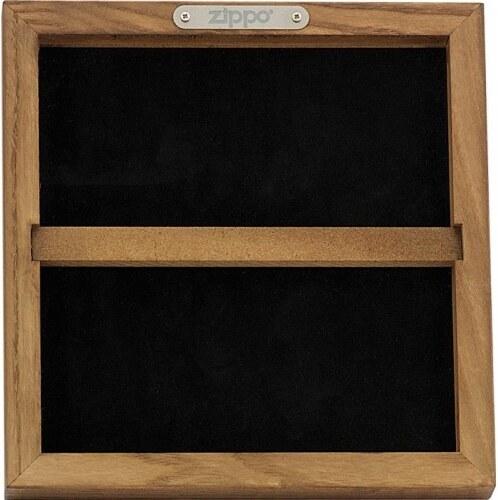 Dřevěná sběratelská vitrína Zippo 42122