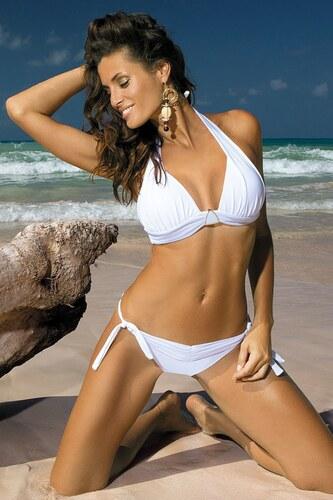 Dámské dvoudílné plavky Marko Liza M-252 Bianco (6a) Bílé jak na obrázku 686e1d509a