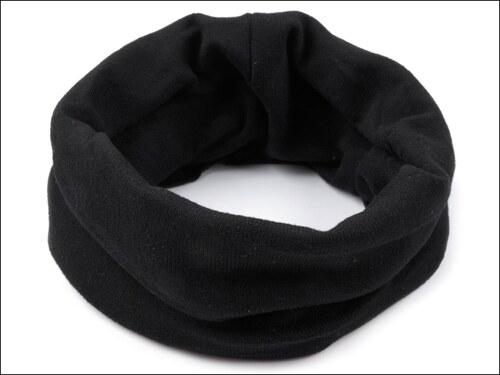 Multifunkční černý šátek