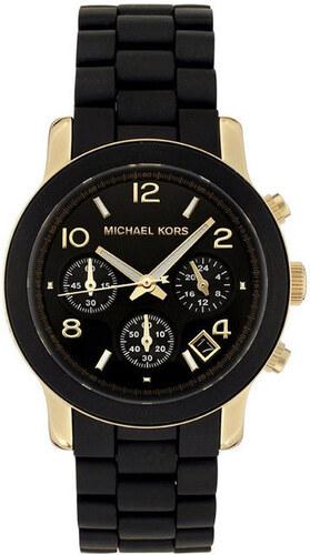 Dámské černé hodinky s pozlacenými prvky Michael Kors - Glami.cz d8aaac3670