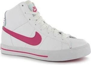 Nike Classic High Dámská kotníková obuv White Blue Pink 7.5 - Glami.cz f144c1645b