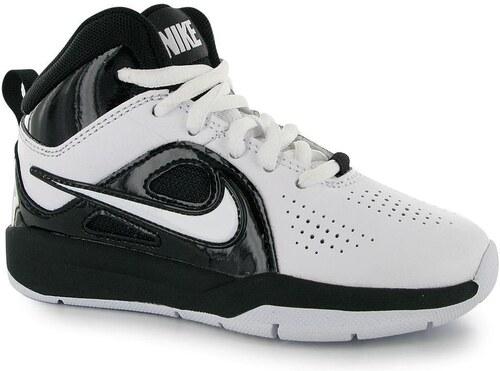 Nike Team Hustle D6 Dětská basketbalová obuv White Black C10 - Glami.cz 2dc4e6006d
