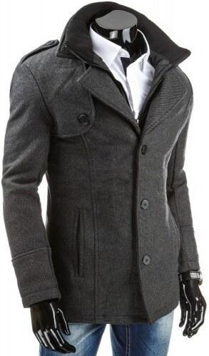 Pánský zimní kabát Forex šedý AKCE - šedá - Glami.cz b76ed62c0f