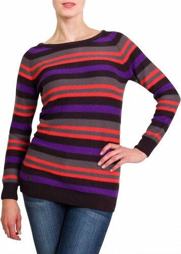 Dámský svetr Stripy Ladies´ Jumper Black