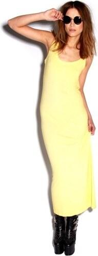 PRETTYLITTLETHING Letní žluté maxi šaty - Glami.cz 877666706a