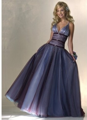 Akce Luxusni Modre Plesove Spolecenske Saty Na Maturitni Ples