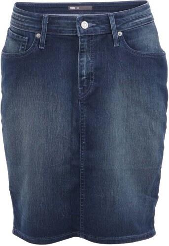 Tmavě modrá dámská džínová sukně Levi s® - Glami.cz 2bfd63e305