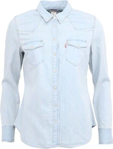 Světle modrá dámská džínová košile Levi s® - Glami.cz 39acd13d5e