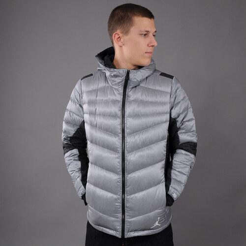 Pánská zimní bunda Jordan Jordan Hyperply Jacket šedá   černá (basketbal) a4f7f41c7b