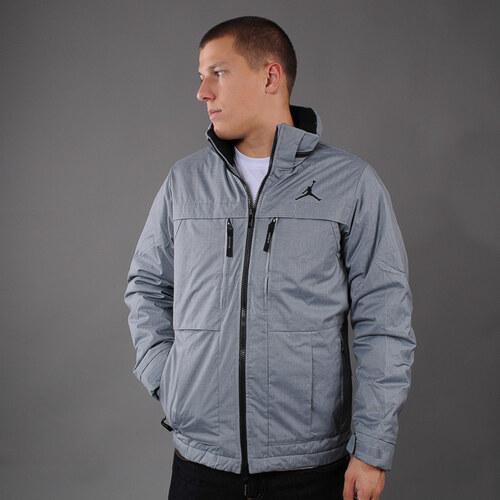 Pánská zimní bunda Jordan Lifestyle Jacket melange šedá (basketbal ... 6fbb5359f8
