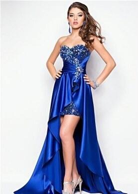 polodlouhé sexy plesové tmavě modré šaty Laura S-M Modrá - Glami.cz 6b5732d071
