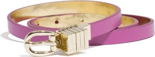 GUESS pásek Pop Color-fialová