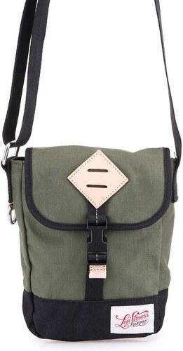 Zelená pánská taška přes rameno Levi s Colorblocked - Glami.cz 965dcaa73a8