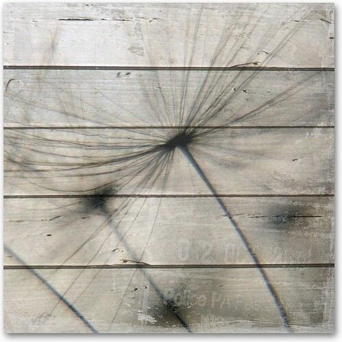 Holzbild »Pusteblume«, 50x50cm