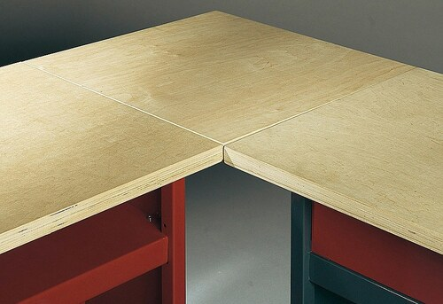Eckverbindungsplatte Holz, 30 mm