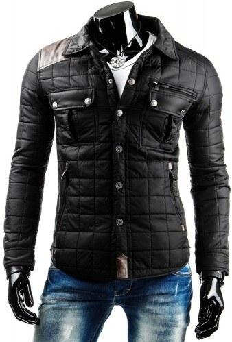 Pánská bunda Springer černá - černá