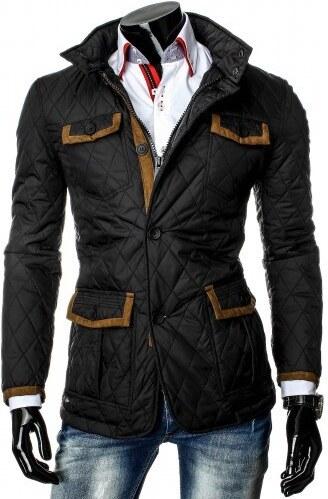 Pánská bunda Quilted - černá