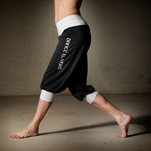 Sportovní 3/4 kalhoty Black&white
