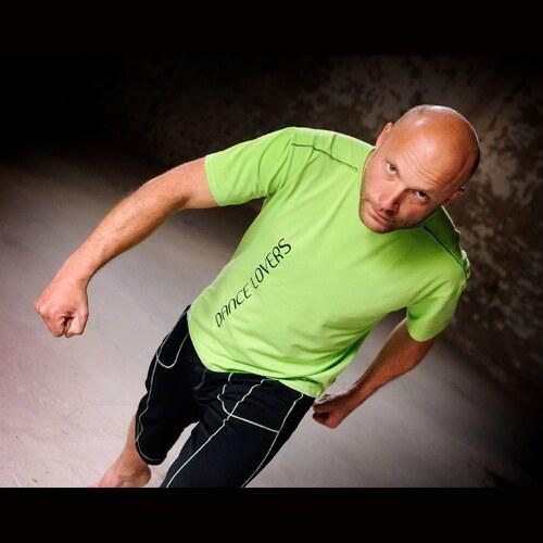 Pánské sportovní tričko Lime