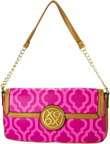Dámská kabelka Xoxo Gold Digger Print Flap Shoulder Bag