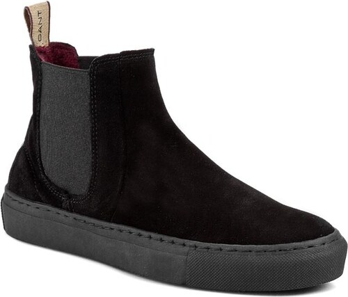 22a29b92f7 Kotníková obuv s elastickým prvkem GANT - Olivia 09553385 Black G00 ...